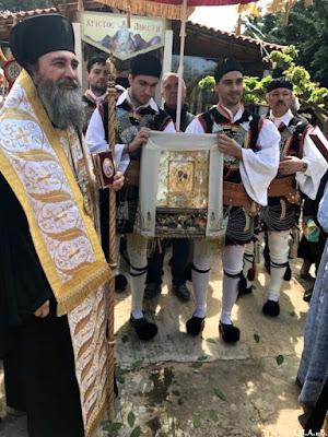 ИПЦ Греции: Праздник в монастыре Св. Марины в Кератеа (Аттика). ФОТО