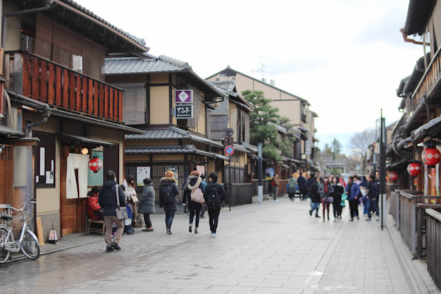 Higashiyama District of Kyoto, Japan