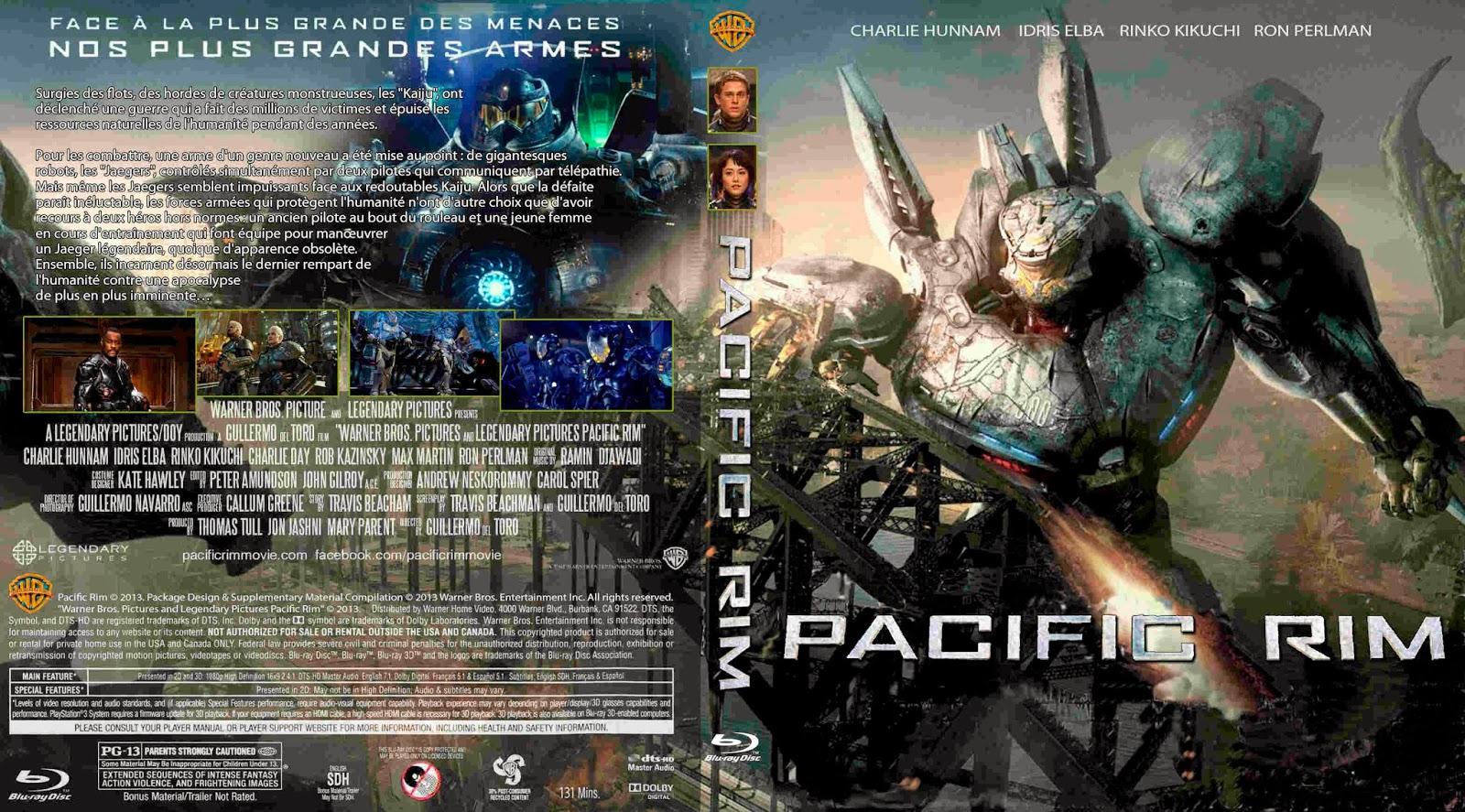 Novedades y más: Titanes del Pacífico (blu ray) Pacific Rim 2013 Dvd Cover