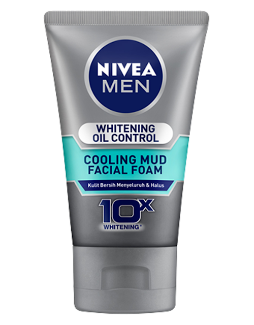 Nivia Men Cooling Mud Facial Foam