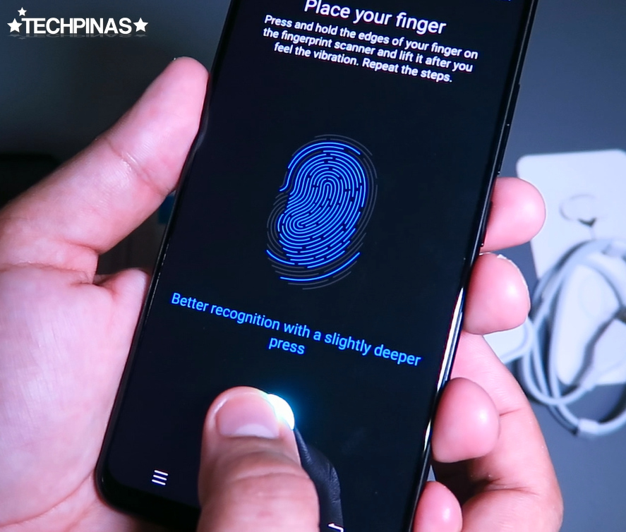 Vivo X21 In-Display Fingerprint Scanner