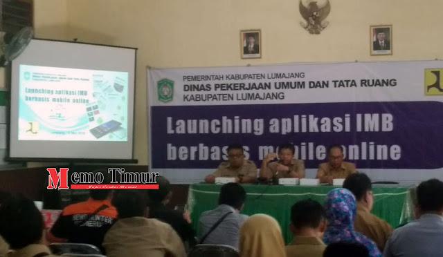 Launching Aplikasi Izin Mendirikan Bangunan (IMB) Berbasis Mobile Online