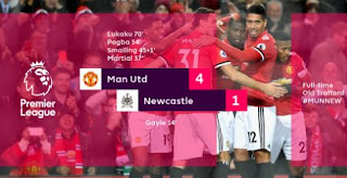 Manchester United vs Newcastle United 4-1 Video Gol & Highlights