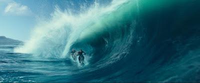 Surfing en moto flotante, casi na