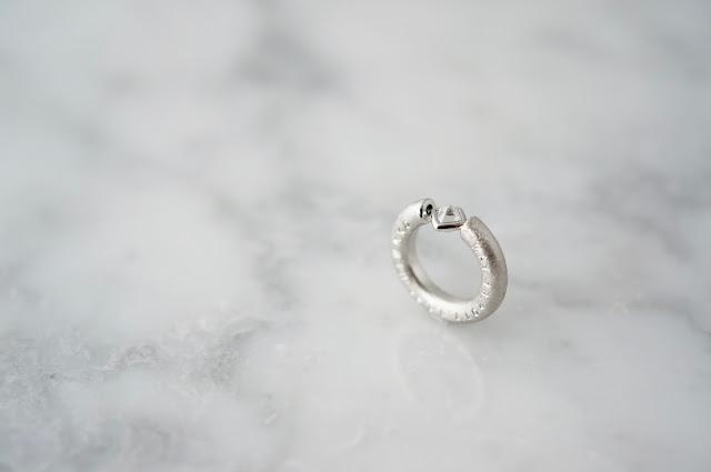 ベビーリング・ダイヤモンド原石