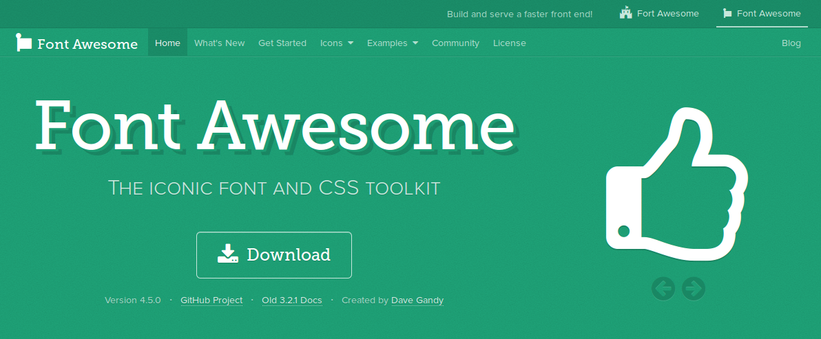 Download Font-awesome
