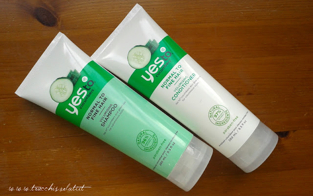 yes to cucumbers haircare