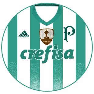 Palmeiras 2017 camisa reserva  fb5eb568174b2