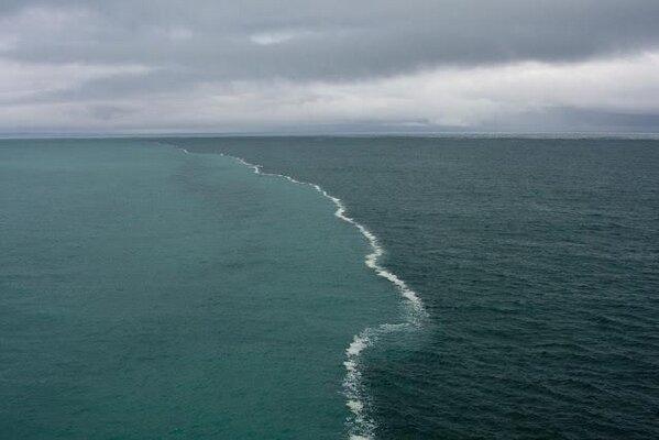gulf of alaska has two oceans that meet but do not mix wool