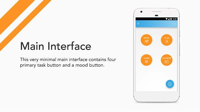 Android app UI and UX : bud Main Interface
