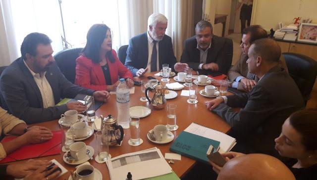 Παρακολούθηση των προγραμματισμένων δράσεων του Περιφερειακού Συνεδρίου Πελοποννήσου