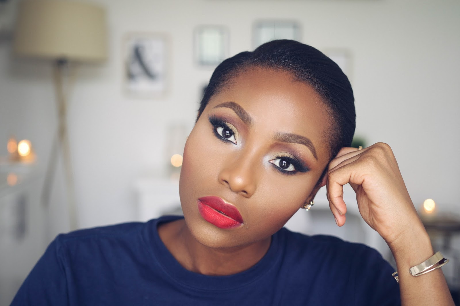 affordable/drugstore makeup tutorial for black women | dimma umeh