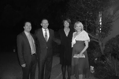Jean Claude and Kate Branch meet Prime Minister Tony Abbott