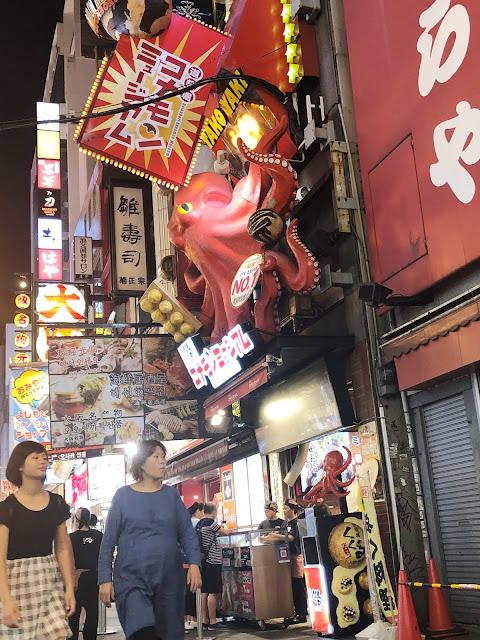 visite de Dotonbori Osaka