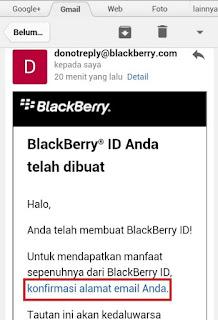Email Konfirmasi BBM Di Android