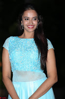 Pujita Ponnada in transparent sky blue dress at Darshakudu pre release ~  Exclusive Celebrities Galleries 110.JPG