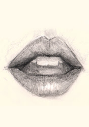 lips mouth drawing draw drawings sad sketch face pencil easy realistic getdrawings step mouths heart teeth learn bing cool nose