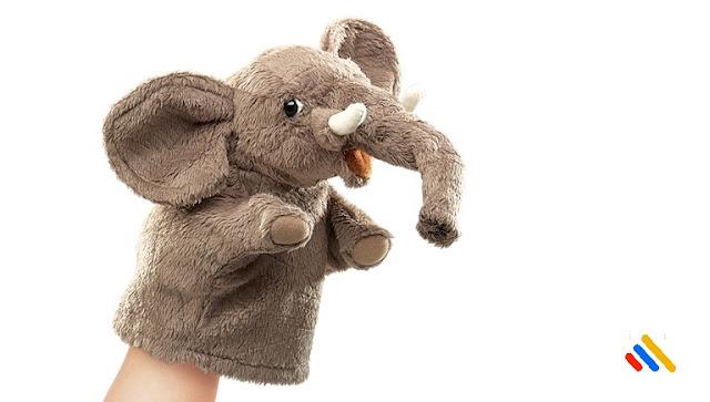 Mainan anak  Boneka Tangan