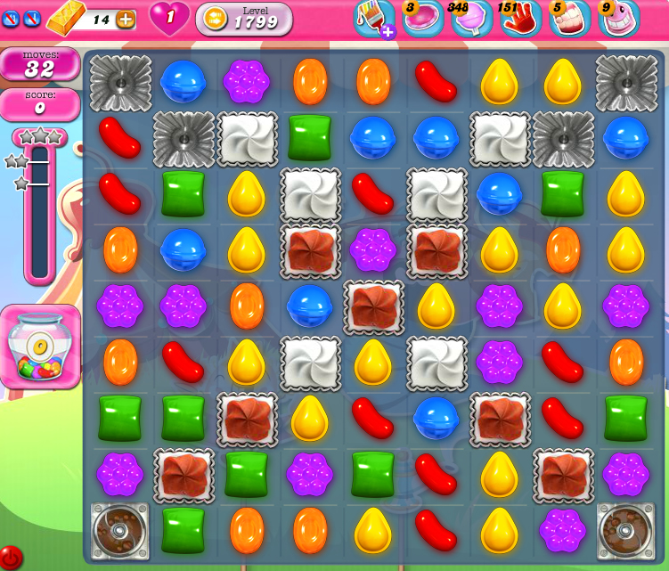 Candy Crush Saga 1799