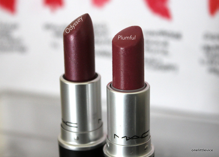 one litlte vice beauty blog: mac lipstick haul