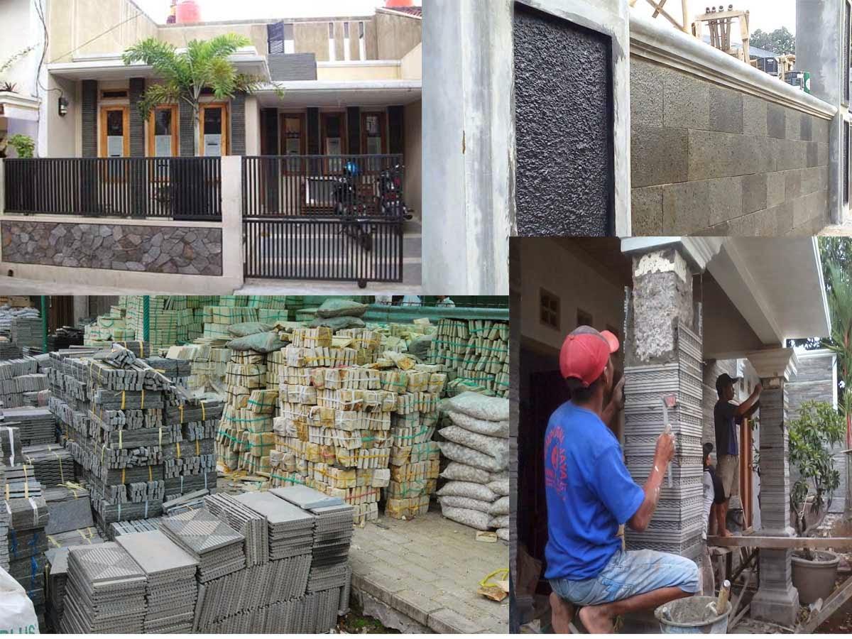 Rumah Minimalis Variasi Batu Alam