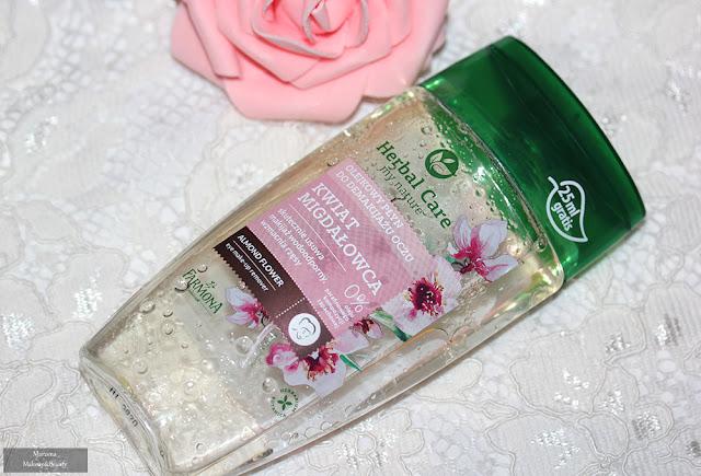 Farmona Herbal Care  olejkowy płyn do demakijażu oczu kwiat migdałowca