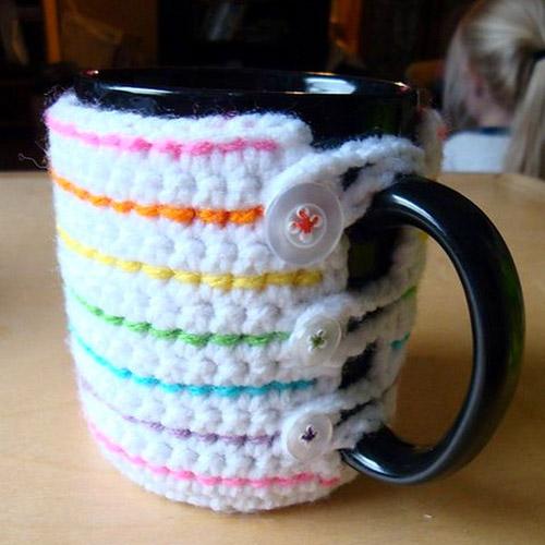 Crochet Mug Cozy - Free Pattern