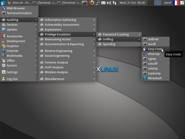 OS BackBox Linux