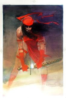 """Reseña de """"Colección Frank Miller. Elektra Asesina"""" de Frank Miller y Bill Sienkiewicz - Panini Cómics"""