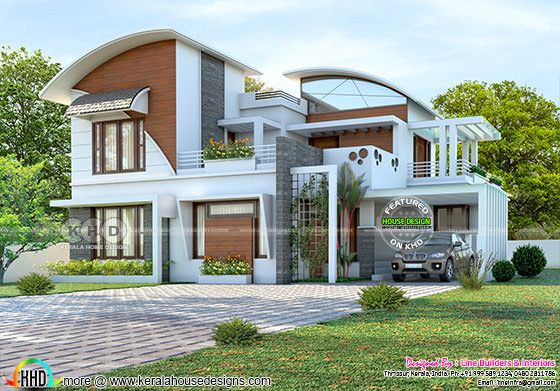 276 square meter 4 bedroom mixed roof contemporary home
