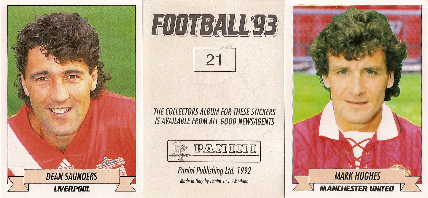 PANINI-FOOTBALL 93-Nº 115 Paul Stewart-Liverpool