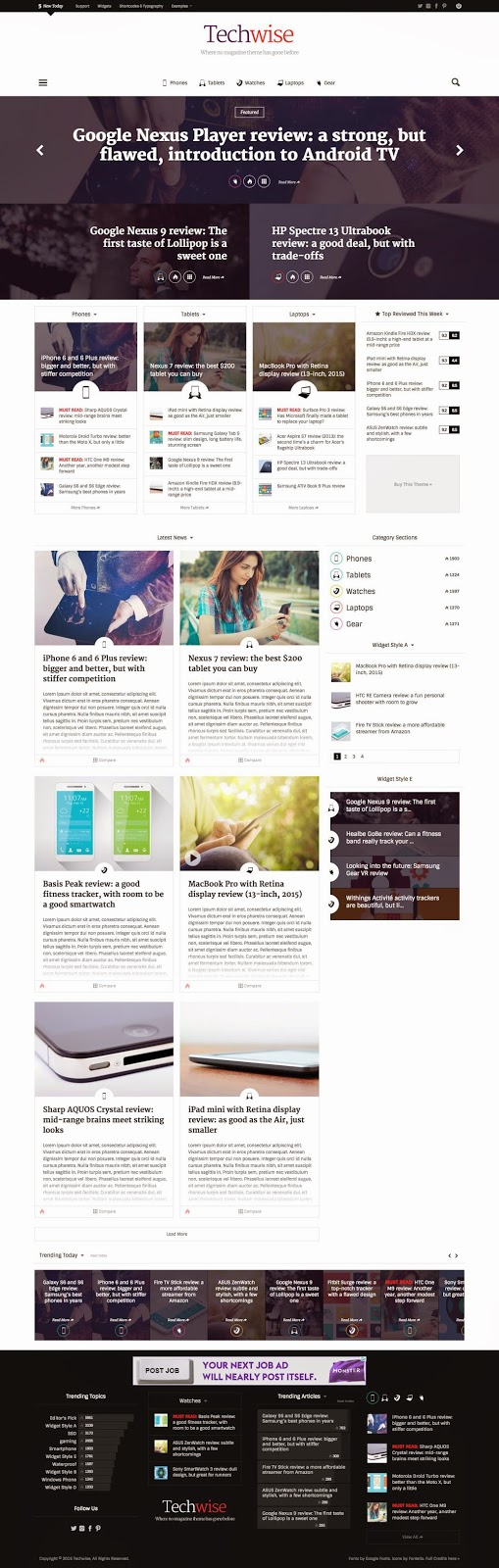 Best Responsive News Magazine WordPress Theme 2015