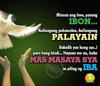 may mahal na siyang iba quotes and sayings boy banat