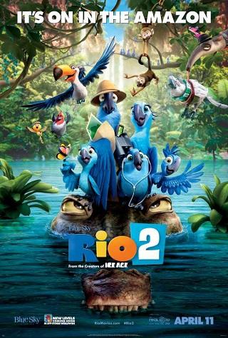 Rio 2 2014 Hindi Dubbed 480p BluRay 300mb Download