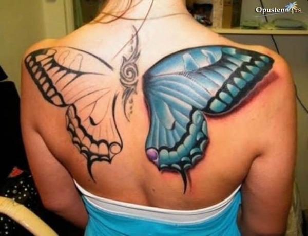 Butterfly Tattoo Designs for Women