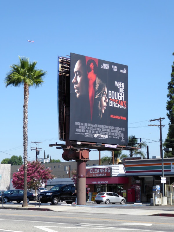 When the Bough Breaks movie billboard