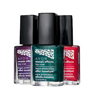 Avon Mosaic Effects|How to Use Avon Nail Color