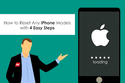 How to Reset Any iPhone Models with 4 Easy Steps