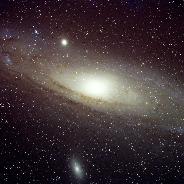 The Great Andromeda Galaxy (M31) - Imaged by Insight Observatory on ATEO-1