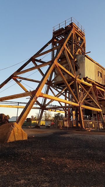 Browne Shaft Headframe