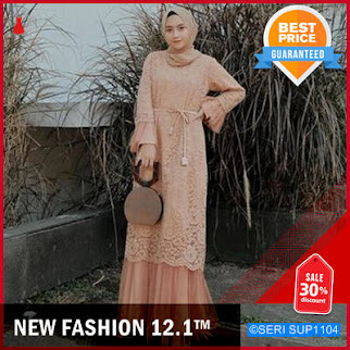 SUP1104N42 New Humaira Dress Muslim Brukat Terlaris BMGShop