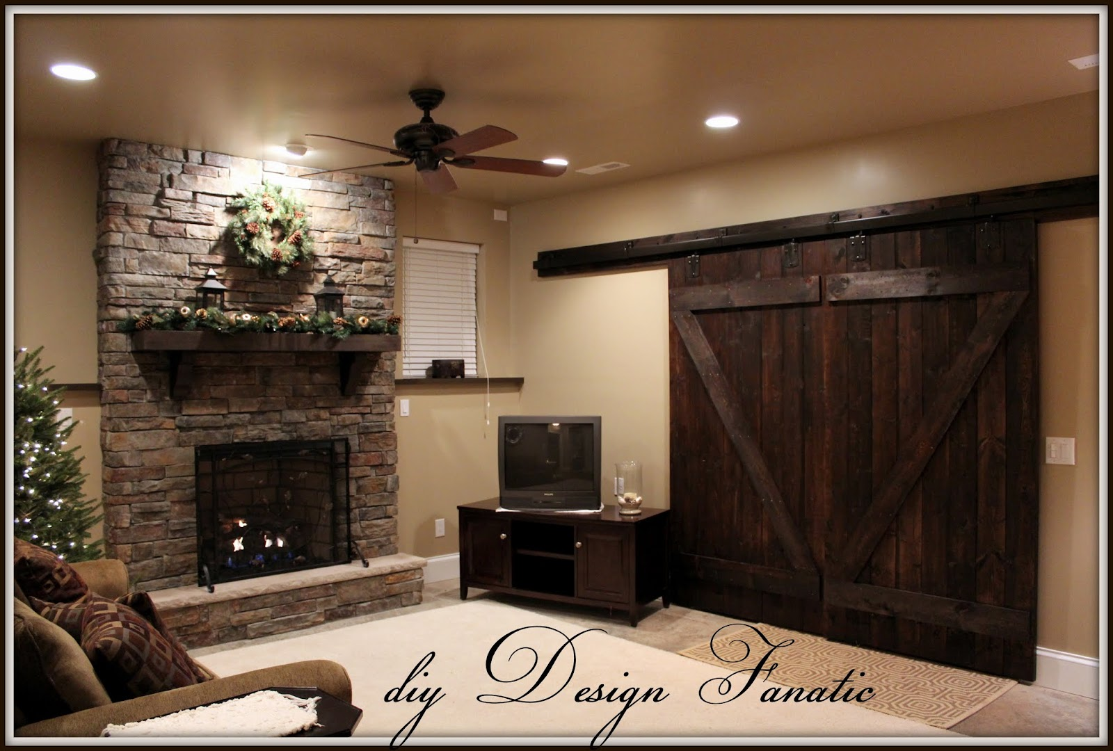 Diy Design Fanatic Barn Doors Completely Finished