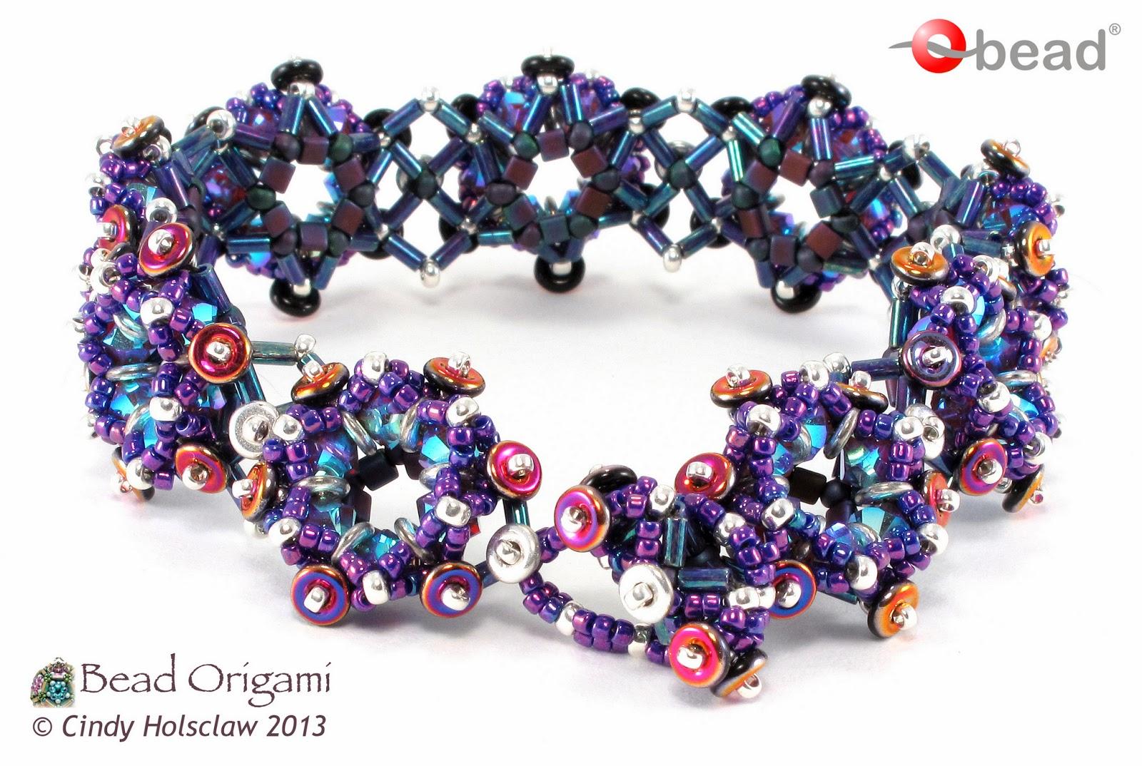 Bead Origami: New Pattern and Kits: Lucky O Bracelet - photo#49