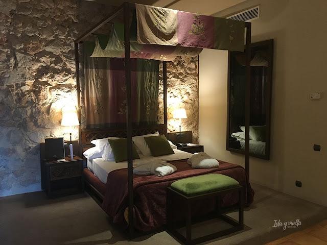 Parador Alarcón habitación Alfonso VIII