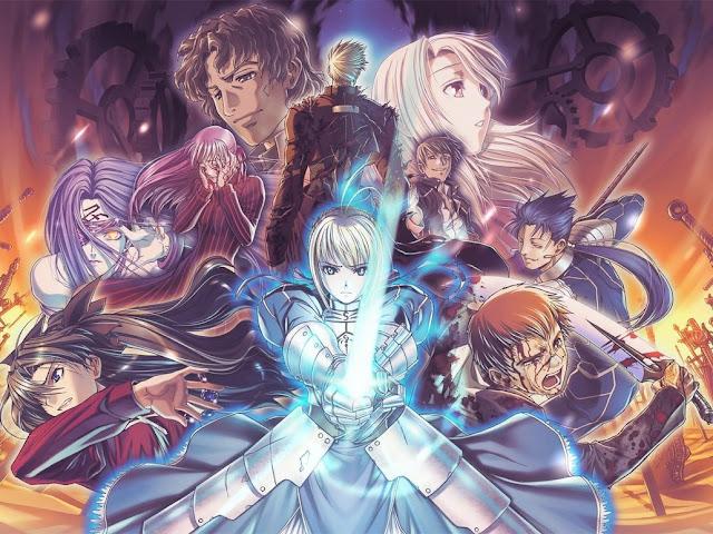 Fate Stay Night (24/24) + OVAS (MB) (HDL) (Sub Español) (Mega)