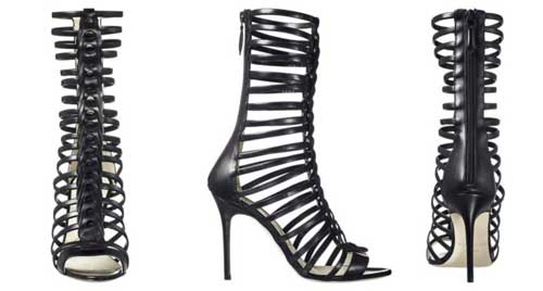Model sepatu high heels gladiator