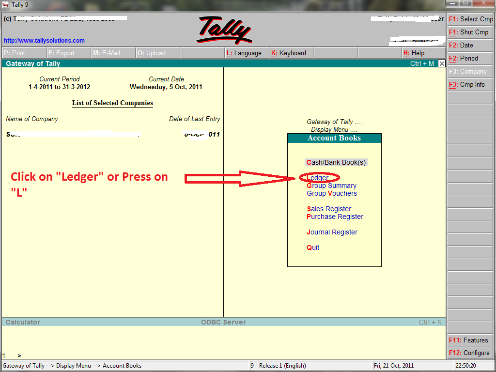 Filter Ledger Accounts In Tally ? (Ledger Amount Contain Specific