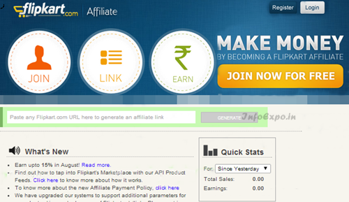 Get Out Of Login Page Errors and Related Crashes on Flipkart Affiliate Website