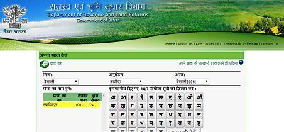 Bihar Bhumi Jankari