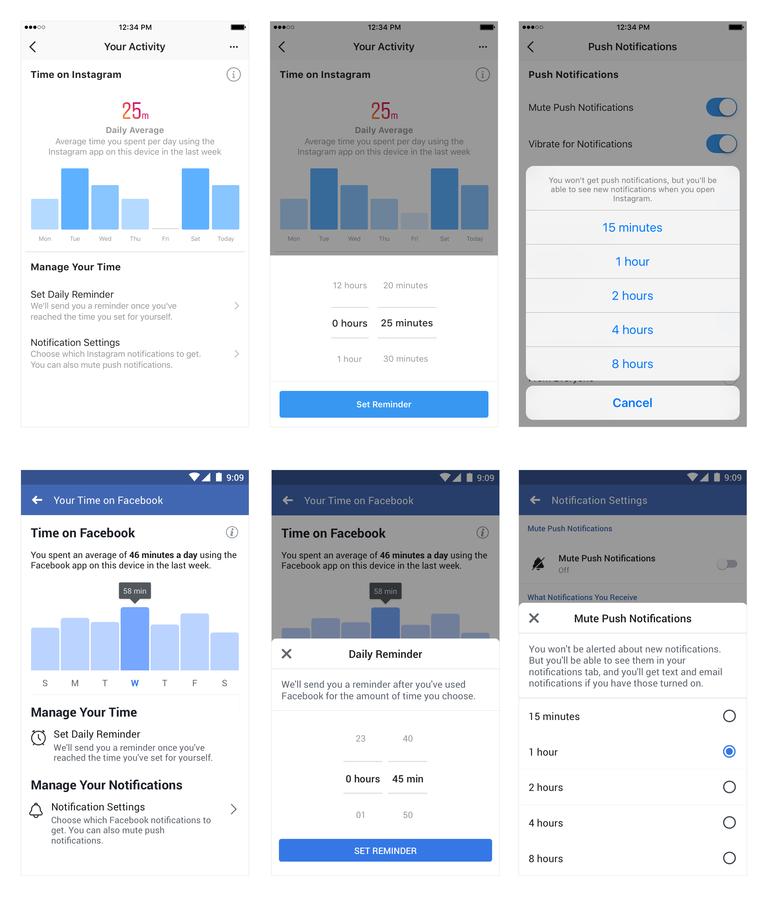 Facebook-Instagra-tempo-trascorso-tool
